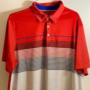 Champion red white and blue shirt sleeve shirt XXL